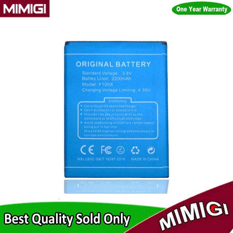 Высокое качество 2200 мАч Батарея Для Doogee Nova <font><b>Y100x</b></font> accu Bateria <font><b>Batterie</b></font>