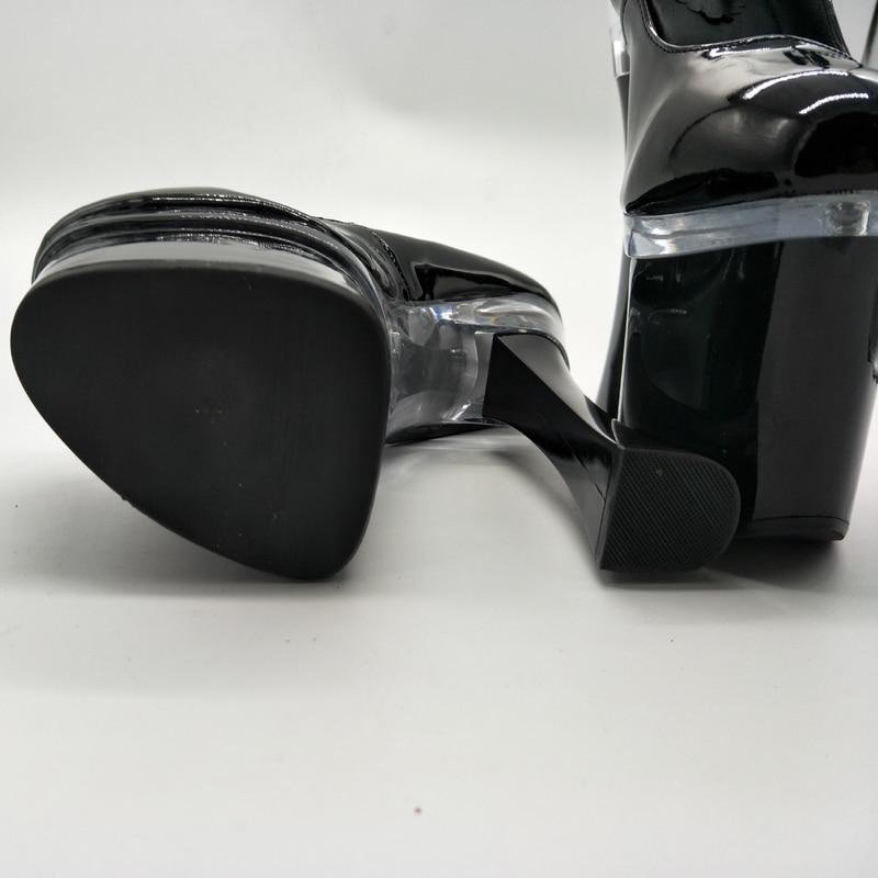D113 Femmes De Sangle Pompes Laijianjinxia Nouveaux Hauts Chaussures Talons D 7 Pouce Cm Plate 113 Classiques Cheville Simples forme Sexy 18 d041 À Noir pHBtUBrq