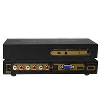 5.1CH HDMI Digital audio decoder converter HDMI to VGA HDMI to HDMI / VGA / SPDIF / 5.1 Surround Sound Converter for TV