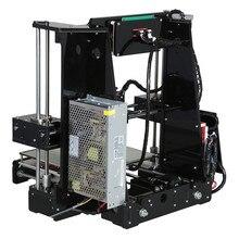 Анет A8 A6 3D-принтеры Высокая точность три-размеры печати ЖК-дисплей Экран RepRap Prusa I3 DIY 3D-принтеры комплект нити 8 г SD карты
