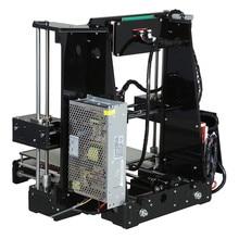 Anet A8 A6 3D Printer High Precision Three-dimension Printing LCD Screen Reprap Prusa I3 DIY 3D Printer Kit Filament 8G SD Card