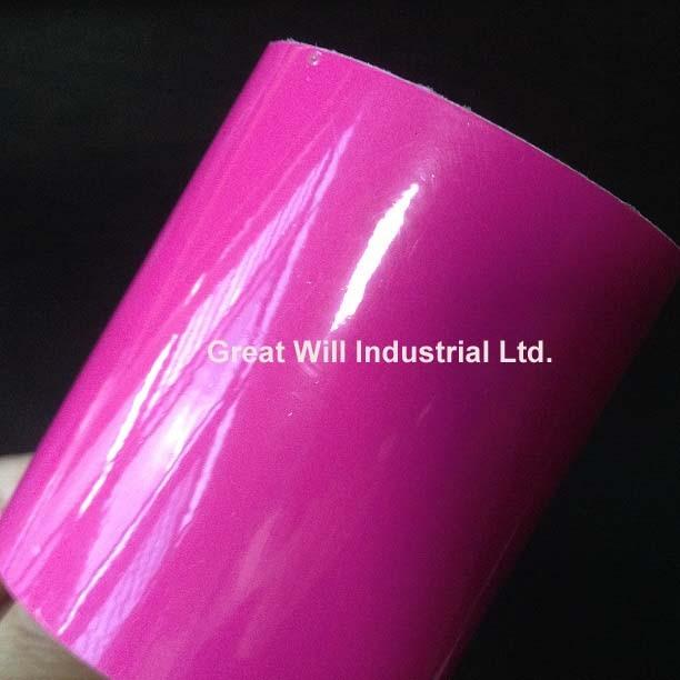 Gloss Magenta Universal Car Sun Strip Hot Pink 200MM X 1600MM