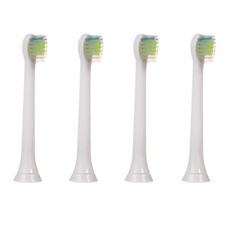 New 4pcs HX6074 Best Electric Sonic Replacement Brush Heads Fits For Philips Sonicare Toothbrush Heads Soft Bristles Flexcare 16pcs best sonic electric toothbrush replacement for philips sonicare brush heads hx6064 diamond clean soft bristles black new