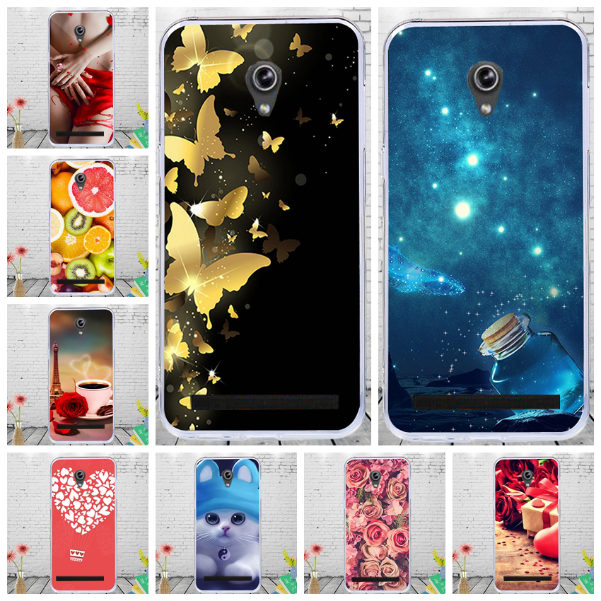 CALROVTE Floral Phone Cover For <font><b>ASUS</b></font> <font><b>Zenfone</b></font> <font><b>5</b></font> <font><b>A501CG</b></font> A500CG Soft Silicone <font><b>Case</b></font> for <font><b>ASUS</b></font> <font><b>Zenfone</b></font> <font><b>5</b></font> <font><b>A501CG</b></font> Printed TPU <font><b>Cases</b></font> image