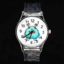 Monster Ogre Wings Bat Fairy Insect Caterpillar Cartoon Kids Children Gift Quartz Watches Boy Girl Baby Birthday Wrist Watch