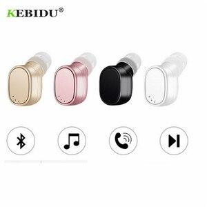 Image 5 - KEBIDU X12 Bluetooth casque mini sans fil écouteur Portable USB magnétique charge casque Sport oreillette casque pour iPhone 8X7
