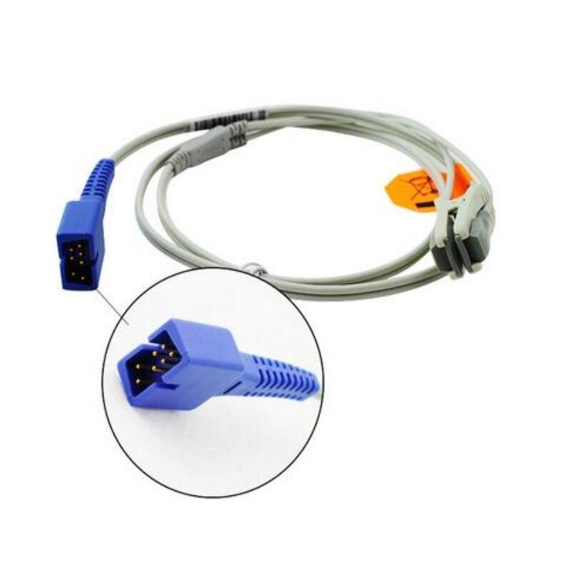 US $19 58 18% OFF 2018 Compatible for Nellcor DB7 Pin Animal/veterinary  Earclip Spo2 Sensor Pulse Oximeter Probe,Spo2 Sensors Oximetry Sensor 1M-in