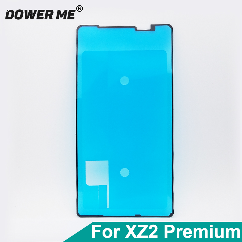 Dower Me LCD Display Screen Waterproof Adhesive Front Frame Sticker Glue For SONY Xperia XZ2 Premium H8166 XZ2P Plus Replacement