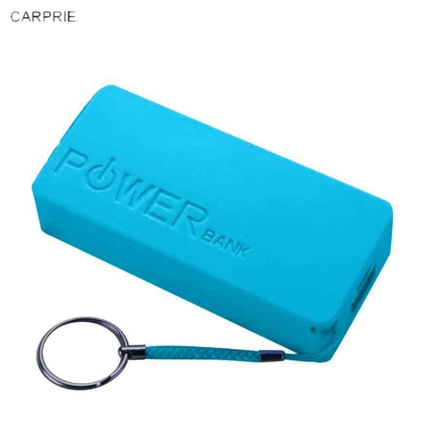 New2018 أفضل بيع 5600mAh 2X18650 USB الطاقة جراب لشاحن البطارية الاحتياطية DIY مربع لفون ل Sumsang البطارية غير مدرجة