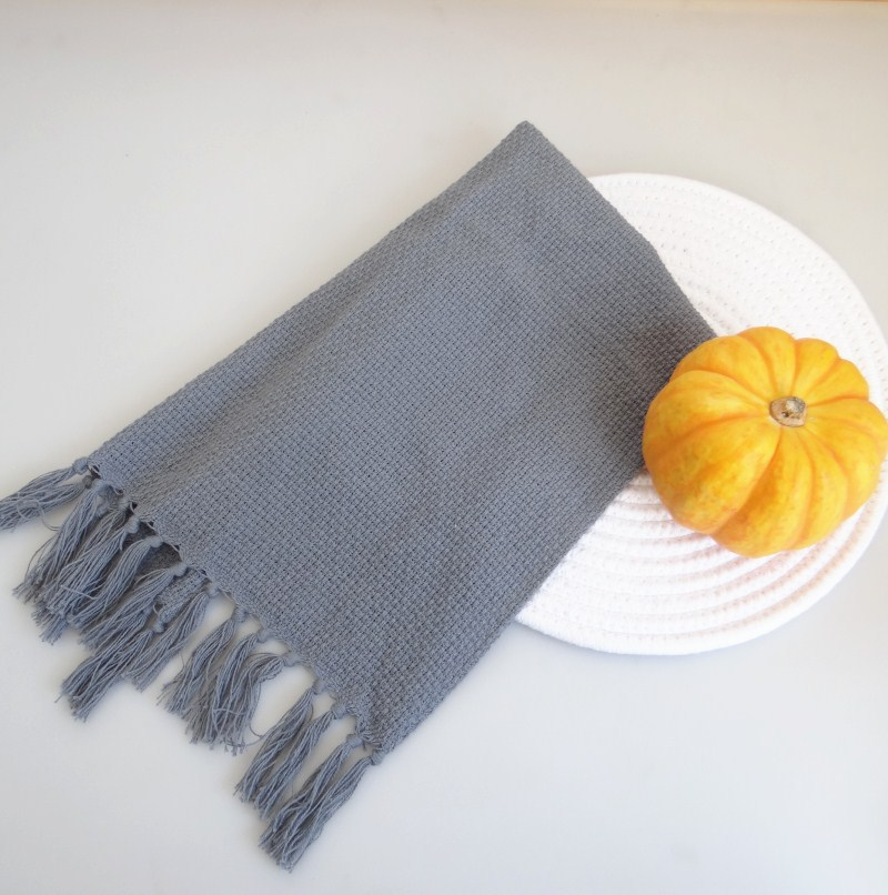 2kom Set francuskog stila resice obrub pamuk pleteni stol Placemat - Tekstil za kućanstvo - Foto 4