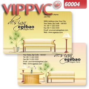 a60004 Best Translucent PVC Card Printing