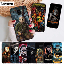 Lavaza The Curse Of Michael Myers Horror Silicone Case for Samsung A3 A5 A6 Plus A7 A8 A9 A10 A30 A40 A50 A70 J6 A10S A30S A50S