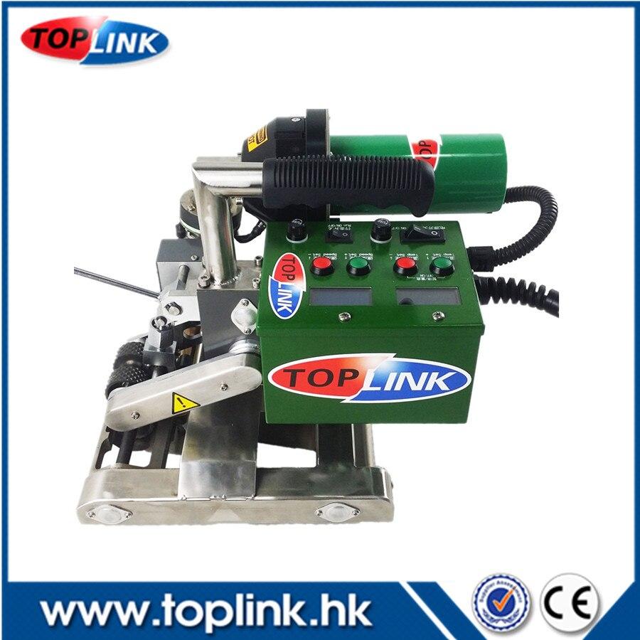 TOPLINK - 4001E PVC Fabric Hot Air Welder Geomembrane Welding  PVC Geomembrane Welding Machine