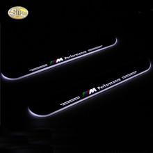 Sncn Moving свет потертости педаль для BMW X5 E70 2013 2014 2015 автомобиля акриловые светодиодные порога Добро пожаловать педали