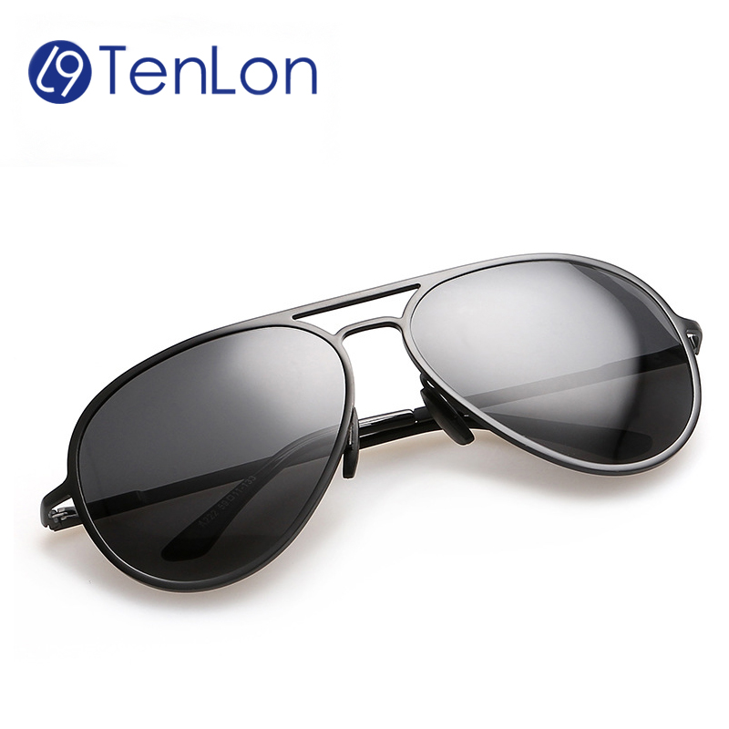 2016 MEN Basic Style aluminum magnesium oculos de sol Sunglasses eyeglasses men male polarized gafas driving