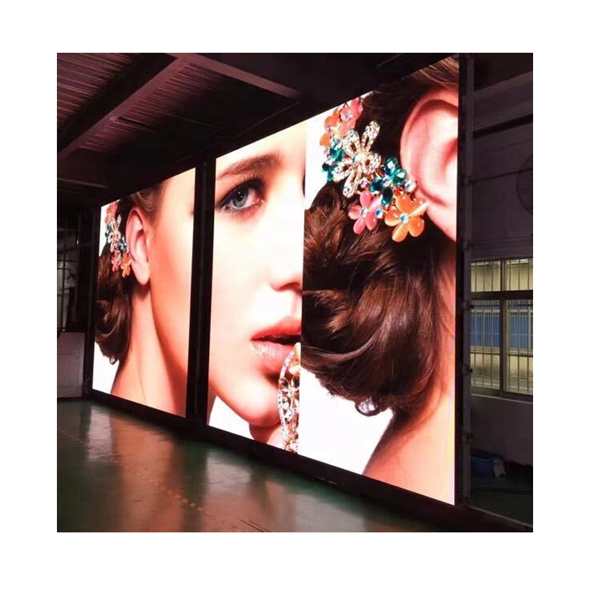 Indoor Led Large Screen P10 640X640mm Aluminium Die Casting Cabinet Rental Led Panel, Led Wall Display