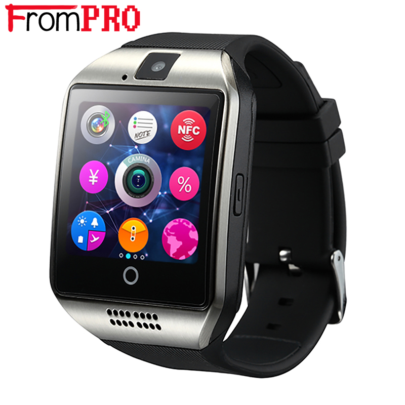 Bluetooth Smart Watch Apro Waterproof update Smartwatch Q18 Support NFC SIM Card Camera For Iphone Samsung