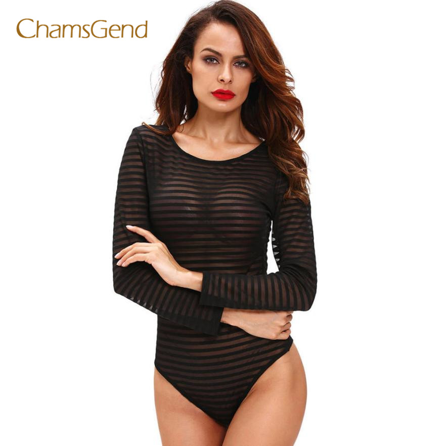 2017 new Sexy Lace Bodysuit Women Choker Neck See Through Skinny Body Jumpsuit Ladies Romper Combinaison Shorts Playsuits dsep14