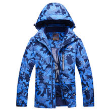 Brands Cheap Snow Jackets men skiing Clothing outdoor sports Camouflage ski snowboard waterproof windproof thermal Ski jackets