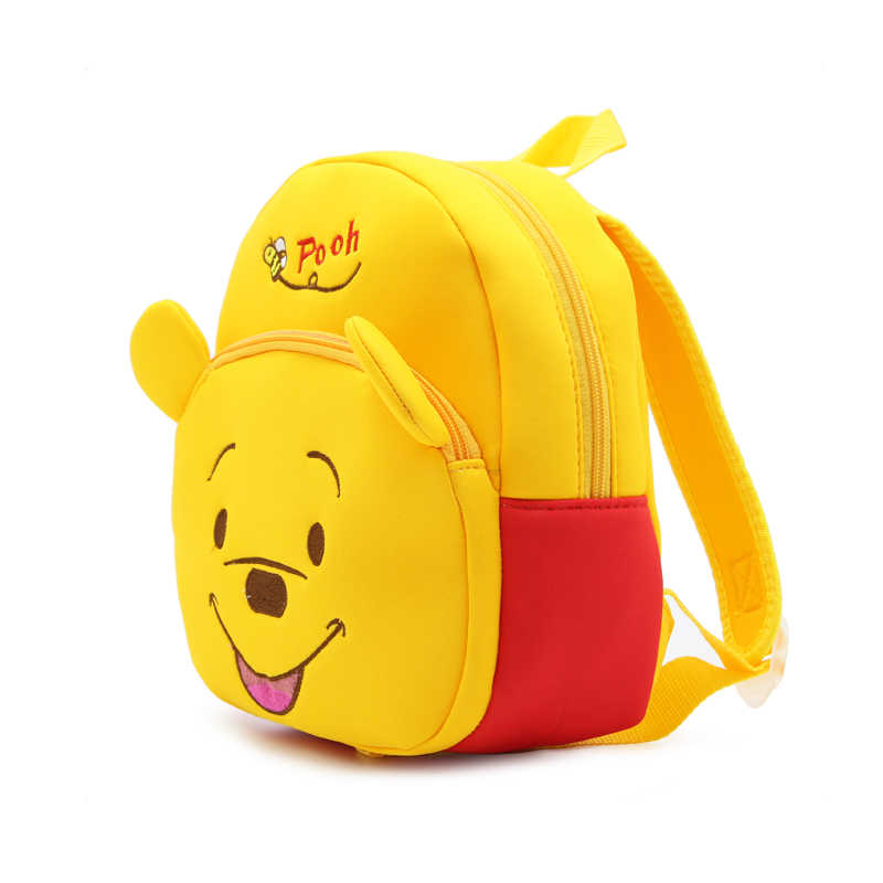 1e7b5b22d8f9 Children School Backpack Cartoon Little Bear Design Waterproof Neoprene  Fabric For Toddler Babies Kindergarten Kids School