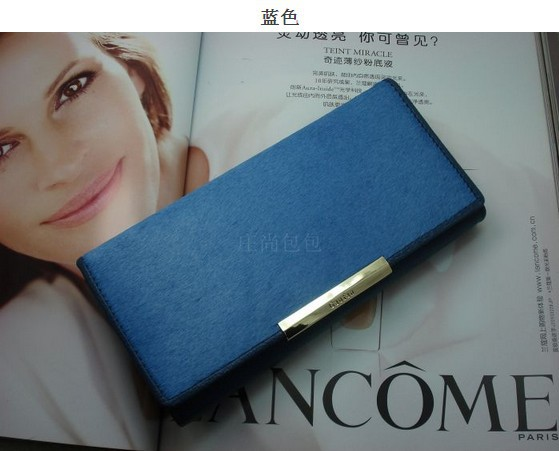 2013 NEW Genuine Leather Advanced Horsehair Women Long Wallets First Layer of Cowhide Ladies' Wallet free shipping !