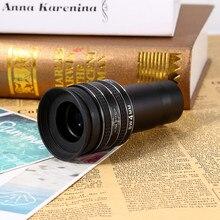 Najnowszy 1.25 calowy SWA 58 stopni 4mm okular planetarny do okularu teleskop astronomiczny do obserwacji planetarnej