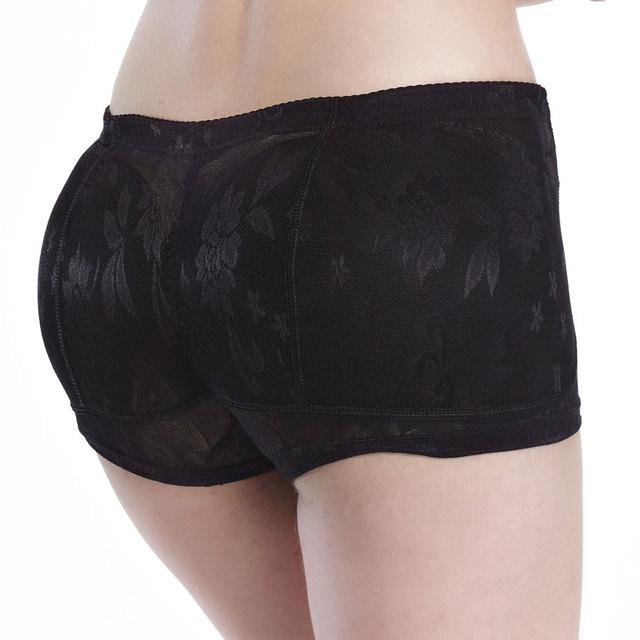 Mujeres butt enhancer acolchado bragas levantamiento de glúteos talladora hip up ropa interior almohadillas de culata falsos ass almohadillas nalgas abundantes calzoncillos