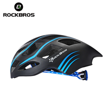 ROCKBROS Professional Triathlon Road Bike Cycling Helmet Men Bicycle Integrally-molded Ultralight Sport Helmet Casco Ciclismo