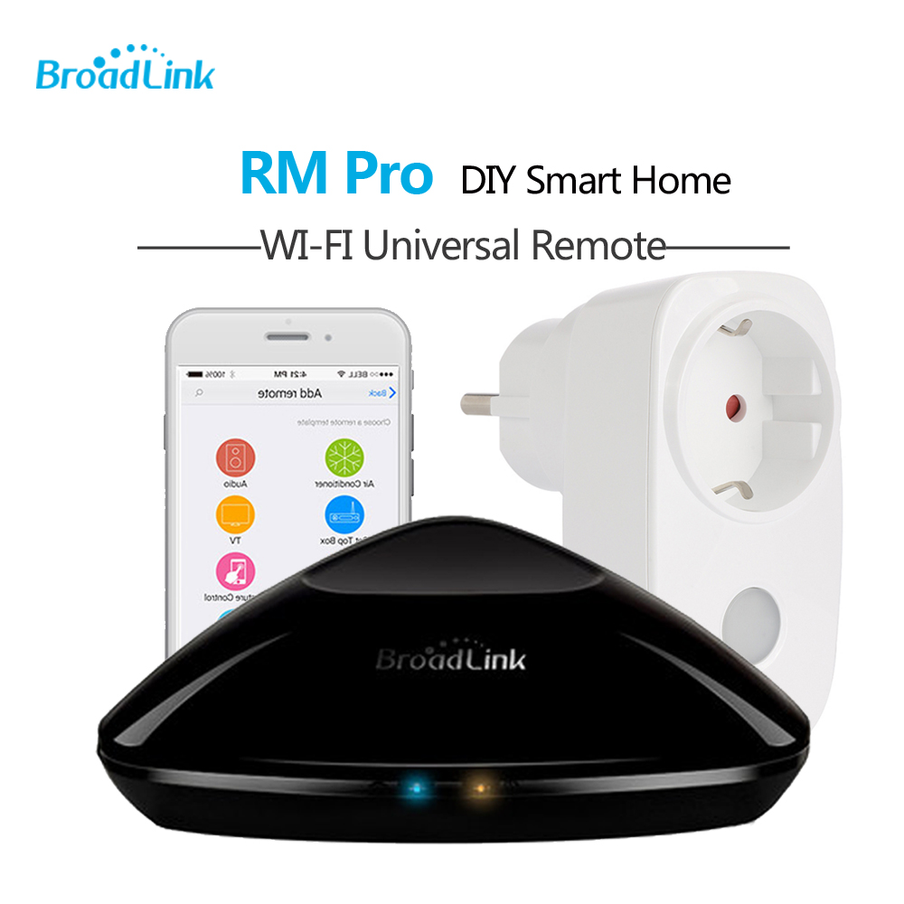 Broadlink RM3 Pro RM Mini 3 Black Bean Smart Home Automation Universal Wifi Switch Remote WiFi/IR/RF Controller Domotica Timer