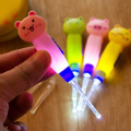 1pcs LED Cartoon Baby Care Ears Spoon Child Cleaning Tool Earwax with Light Spoon Digging Luminous Dig Ear Syringe Ear-picker