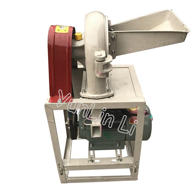 Перец шлифовальный станок коммерческих мясорубку специй Чили Порошковые Машины для дробления зерна зуб коготь дробилка 9FZ 19