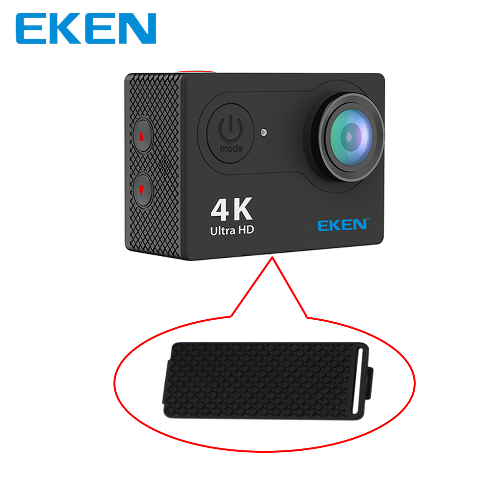 EKEN Camera H9 Battery door Accessories Battery cover for EKEN H9 H9r A8 A9 W8 W9 H9 N9 H8 H8r H6s H5s H8 pro V8s Camera Series tuyu aluminum alloy rugged cage protective case for eken h8r h5s h6s h9r plus v50 gopro hero 4 3 camera with go pro uv lens cap
