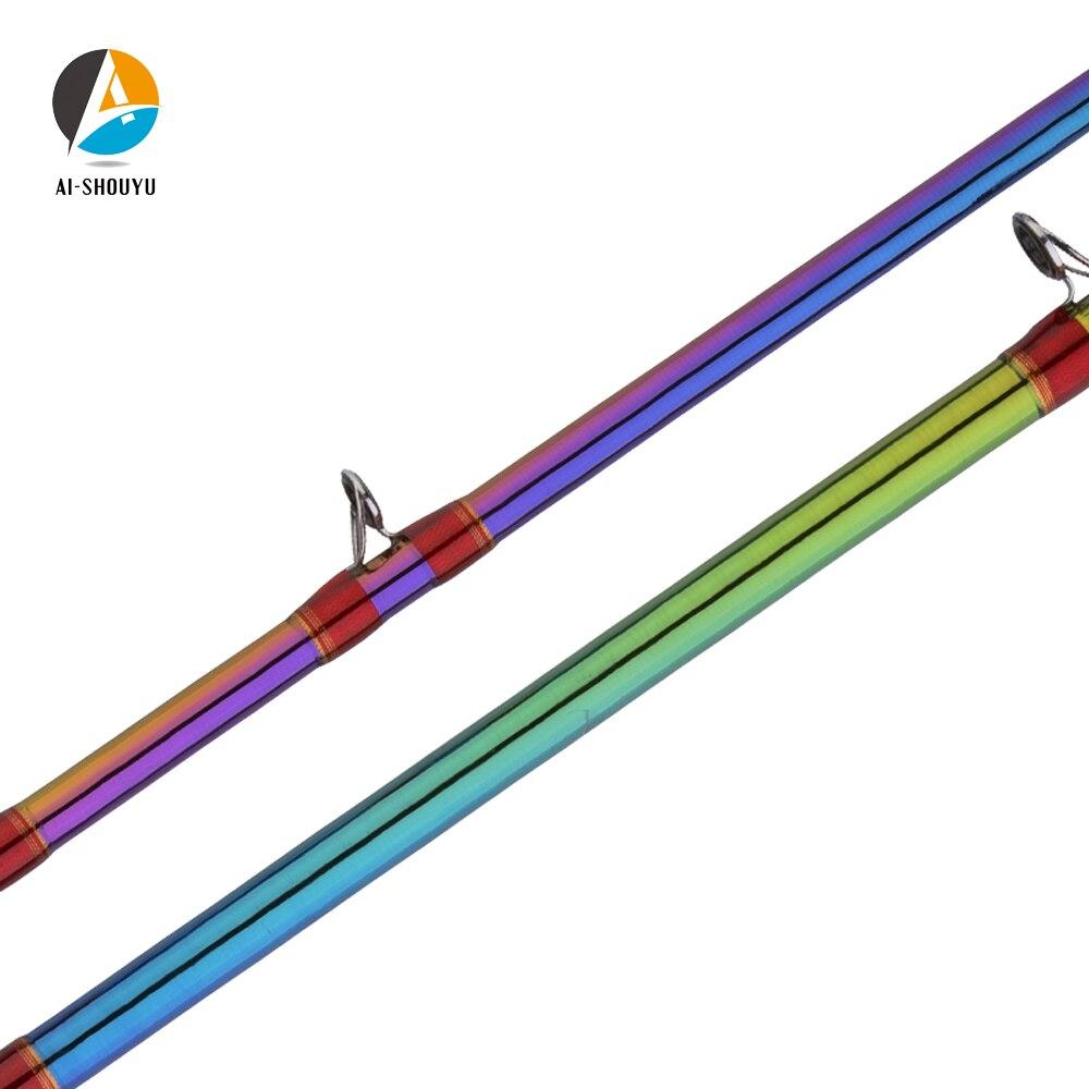 AI SHOUYU Nieuwe Snakehead Lokken Staaf XF Action XH Power Volledige Fuji Casting Hengel Reizen Visgerei ultralichte voor Grote Vis - 3
