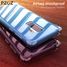 PZOZ Slim Shockproof Protection Case for Samsung Galaxy S9 S9Plus S8 S8Plus Note 8