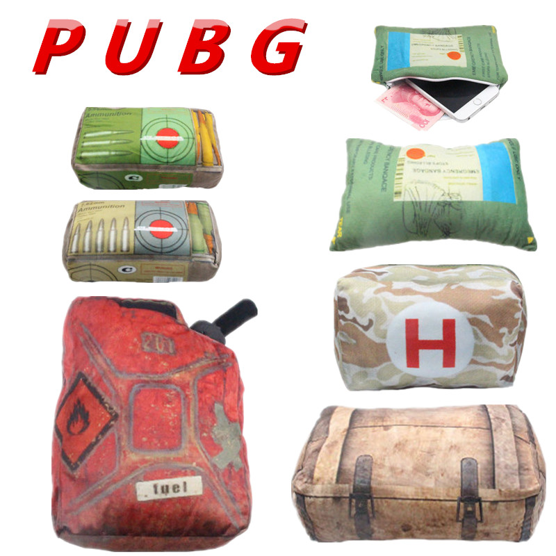 2018 PUBG Playerunknowns Battlegrounds first aid kit Plush Gift Plush pillow Children Gifts Give doll Hand WARMER Pillow Surroun