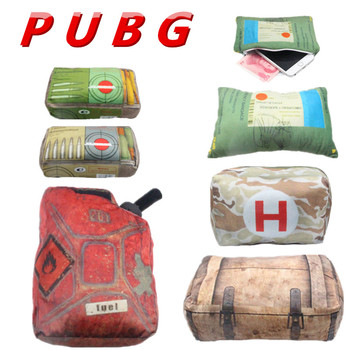 2018 PUBG Playerunknowns Battlegrounds first aid kit Plush Gift Plush pillow Children Gifts Give doll Hand WARMER Pillow Surroun