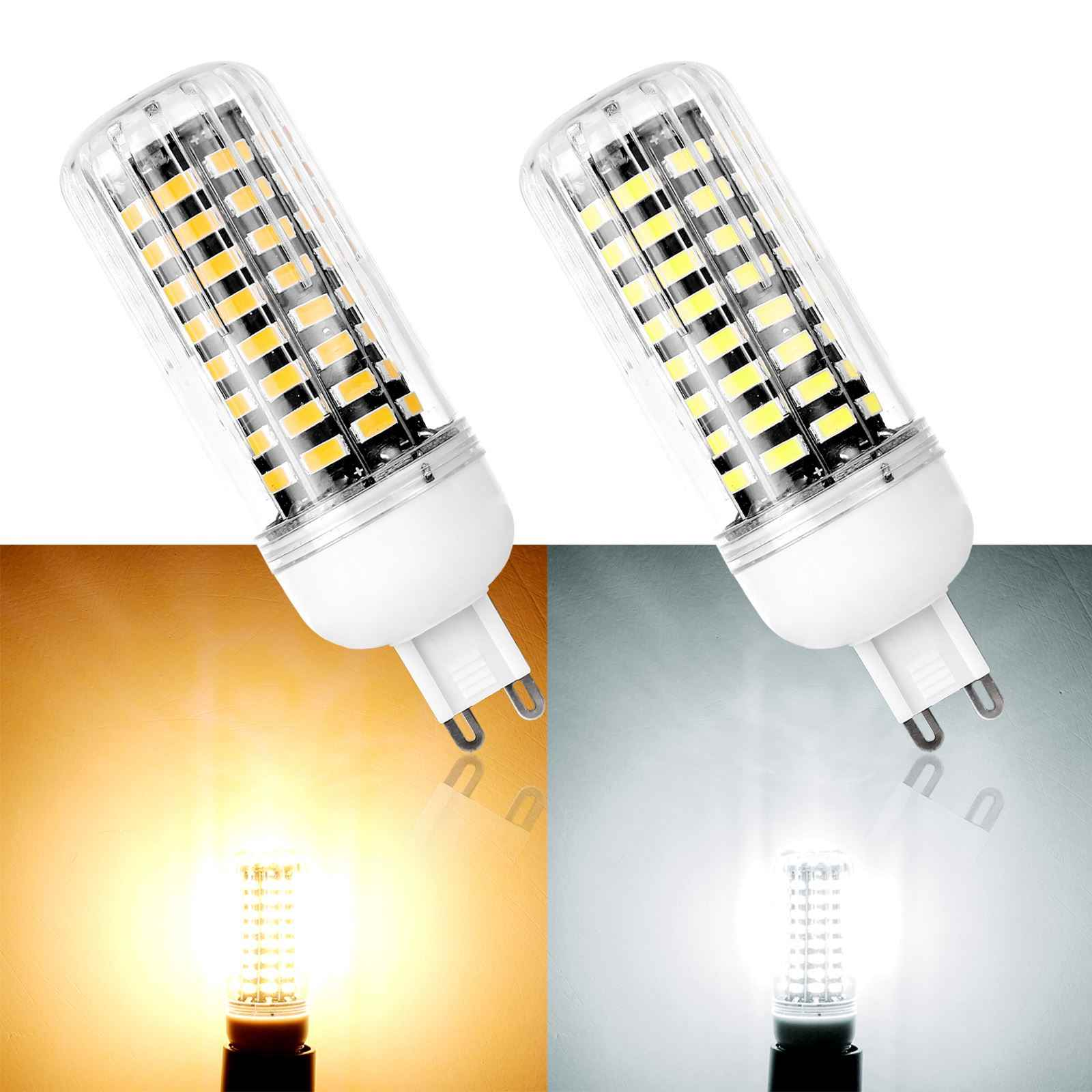 E27 LED Bulb E14 G9 B22 LED Bulb 220V Corn Bulb SMD5733 Chandelier Candle LED Light For Home Decoration Ampoule