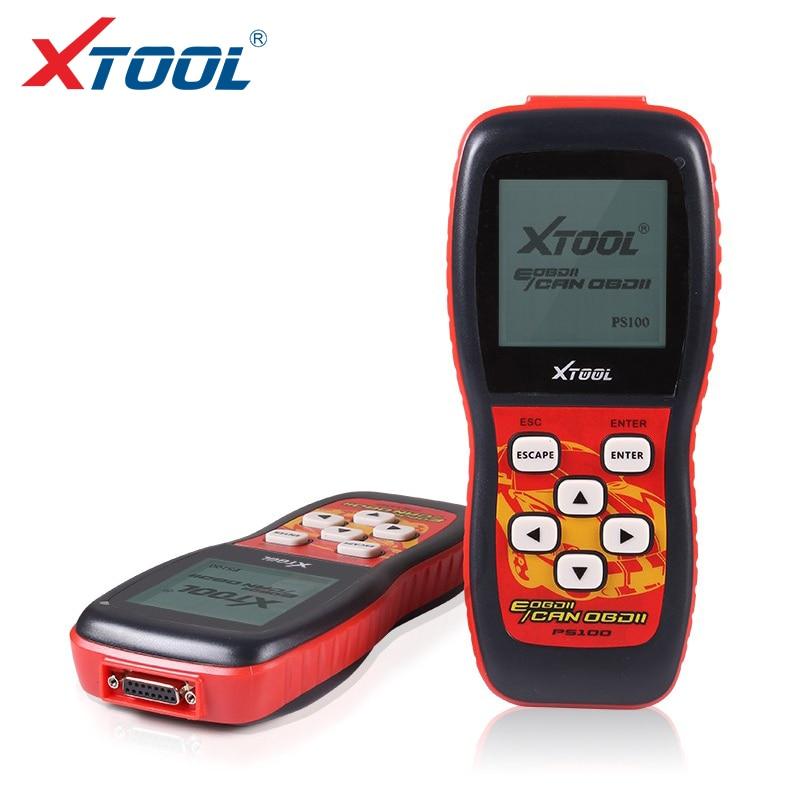 Meilleure qualité 100% Original XTool PS100 outil de diagnostic XTOOL PS100 PS 100 lecteurs de Code ps100 CANOBDII EOBDII obd2 scanner