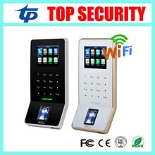 New arrived ZK biometric fingerprint time attendance and access control with keypad ZK F22  WIFI TCP/IP USB door access control