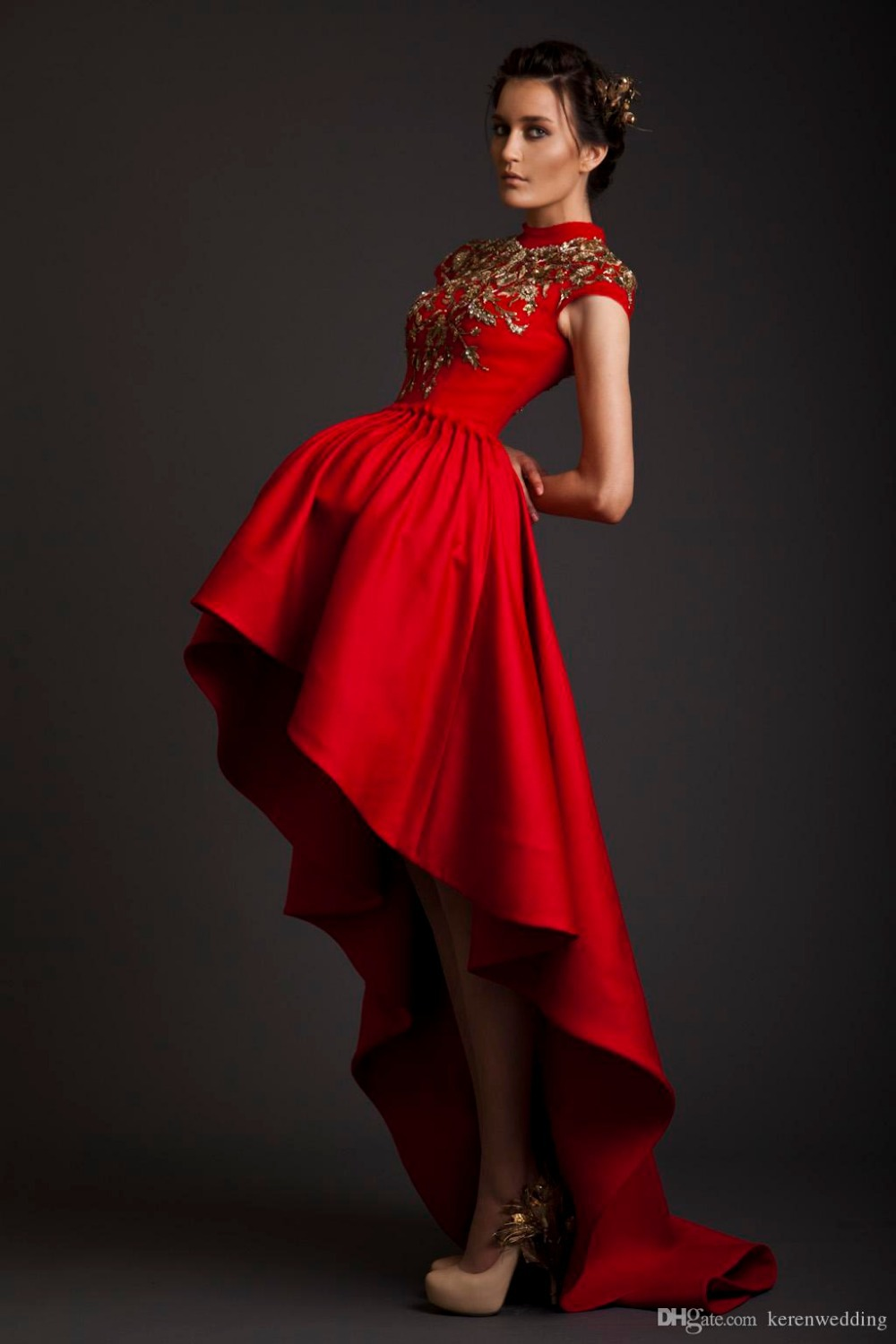 Online Buy Wholesale red corset prom dress from China red corset ...