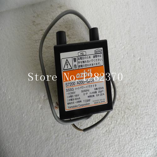 [SA] new Japanese original authentic azbil ignition transformer A200-GHR spot [sa] new original authentic japanese controller fx1s 10mr 001 spot 2pcs lot