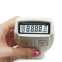 Film Coating Thickness Gauge Meter Width Thickness Measuring Instruments for non magnetic surface coating