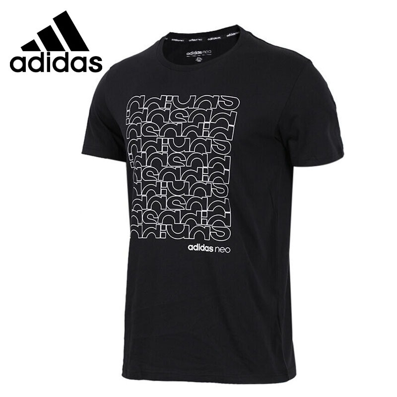 Original New Arrival 2018 Adidas NEO Label FAV TSHIRT Men's T-shirts short sleeve Sportswear original new arrival 2017 adidas neo label m sw tee men s t shirts short sleeve sportswear