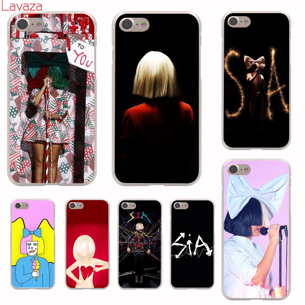 Lavaza Sia Kate Isobelle Furler Hard Phone Case for iPhone