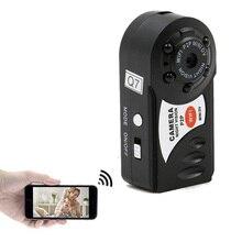 Фирменная Новинка Мини Видео Wi-Fi Spycam мини Q7 Камера 720 P DV DVR Беспроводной няня IP Cam Espia видеокамеры рекордер инфракрасный ночного видения