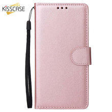 KISSCASE Flip Leather Case For Huawei P Smart 2019 P10 P20 P30 Pro Wallet Phone Case For Huawei Honor 9 10 Lite Y5 Y7 2018 Cover(China)