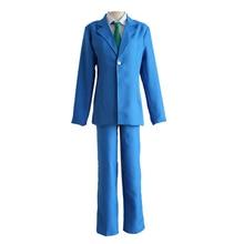Detective Conan Cosplay Jimmy Kudo Costume Unisex High School Uniforms Including Coat Pants Shirt Tie