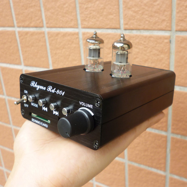 Aliexpress.com : Buy Rhyme sound RD801 6J1 tube headphone ...