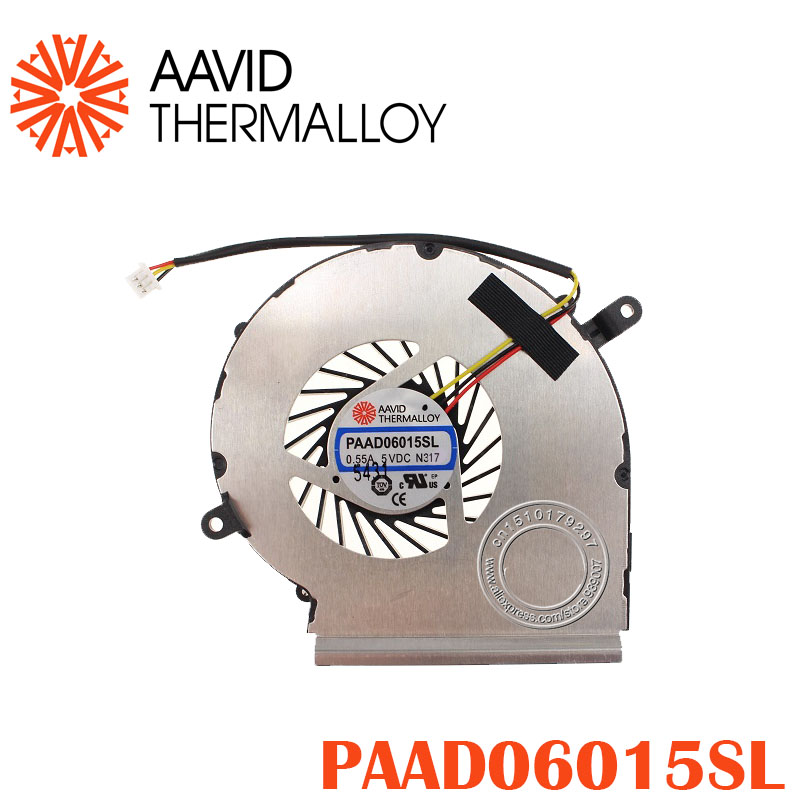 NEW GPU COOLING FAN AAVID THERMALLOY PAAD06015SL 055A 5VDC N317