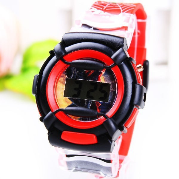 2014-New-Fashion-Cartoon-Despicable-Me-Minion-Watch-Children-Silicone-Digital-Sports-Wristwatches-Boys-Spiderman-Watch (2)